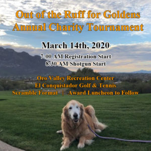 Out of the Ruff Goldens Annual Charity Tournament